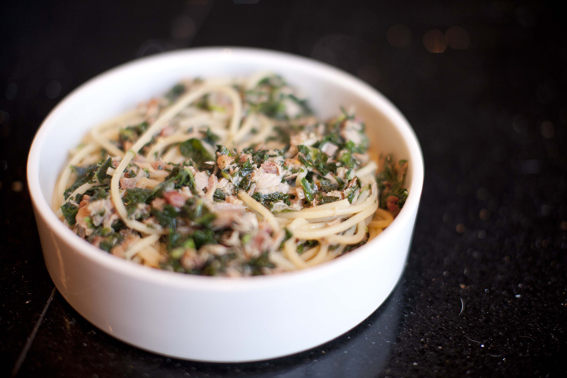 spinach and pancetta pasta adapted from steven wagner s midnight pasta ...
