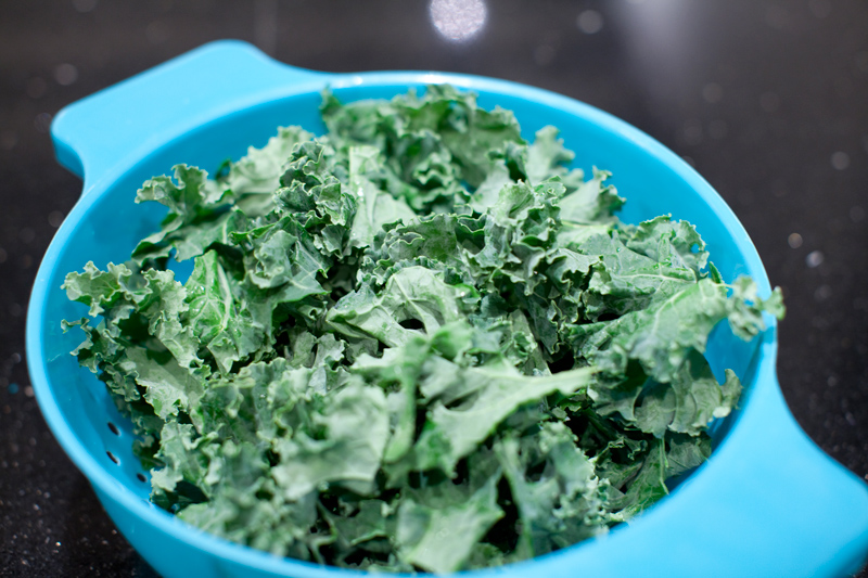 Drain, then when kale is cool enough to handle, squeeze out excess water with hands, crumble, and then set aside. Turn heat down to medium-high then melt butter in skillet. Add brown sugar and sweet potatoes, season with salt, then saute until tender and caramelized, minutes.